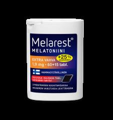 MELAREST MELATONIINI EXTRA VAHVA SALMIAKKI-LAKRITSI 1,9 MG 60+15 75 TABL